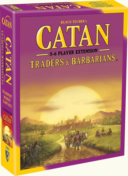 Catan Traders & Barbarians 5-6 Player Expansion
