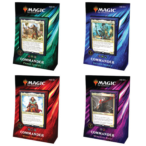 Magic Commander 2019 Decks