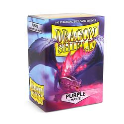 Dragon Shield Matte Purple Sleeves | Phoenix Comics and Games
