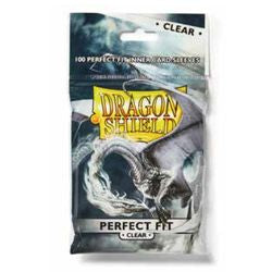 Dragon Shield Perfect Fit Clear Sleeves | Phoenix Comics and Games