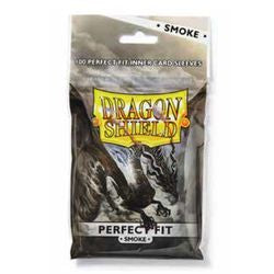 Dragon Shield Perfect Fit Smoke Sleeves | Phoenix Comics and Games