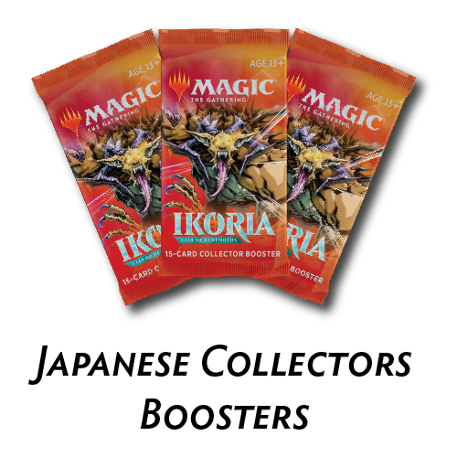 Ikoria Japanese Collector's Pack Boosters (Preorder) | Phoenix Comics and Games