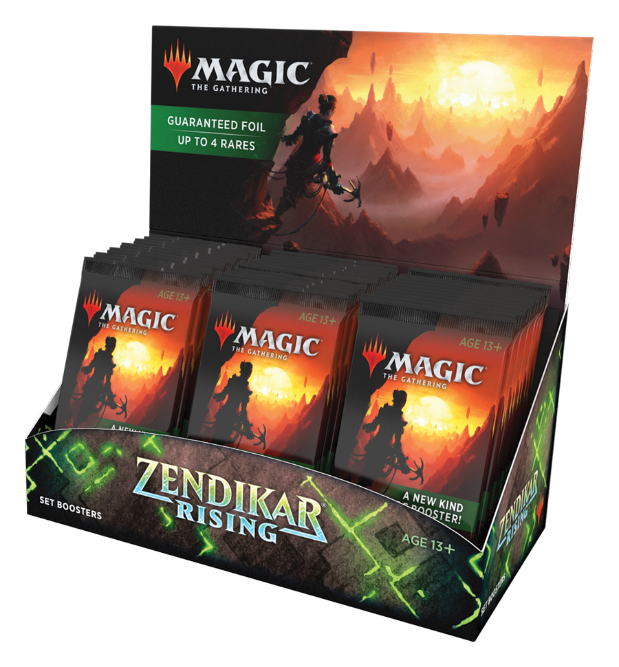 Zendikar Rising Set Boosters | Phoenix Comics and Games