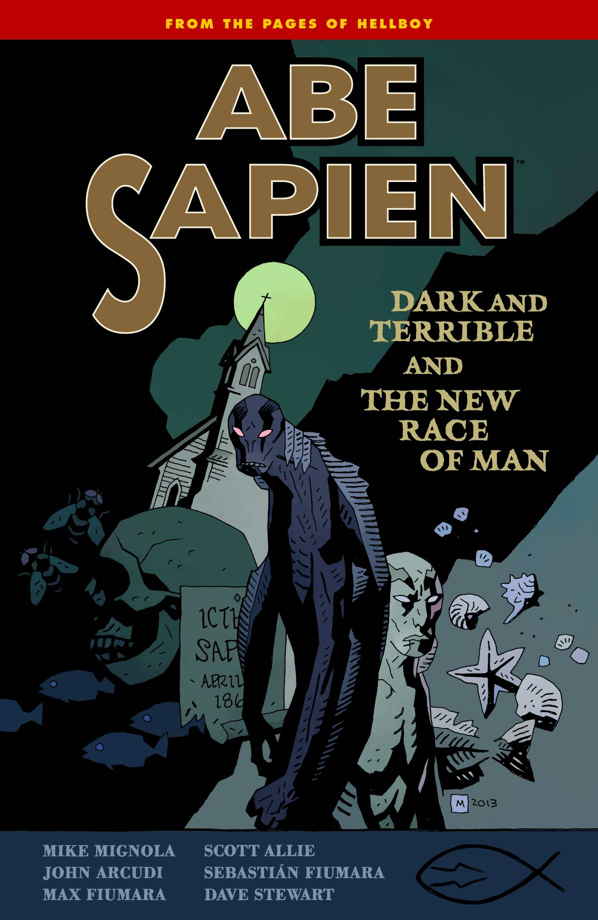 ABE SAPIEN TP VOL 03 DARK TERRIBLE NEW RACE MAN (C: 0-1-2) | Phoenix Comics and Games