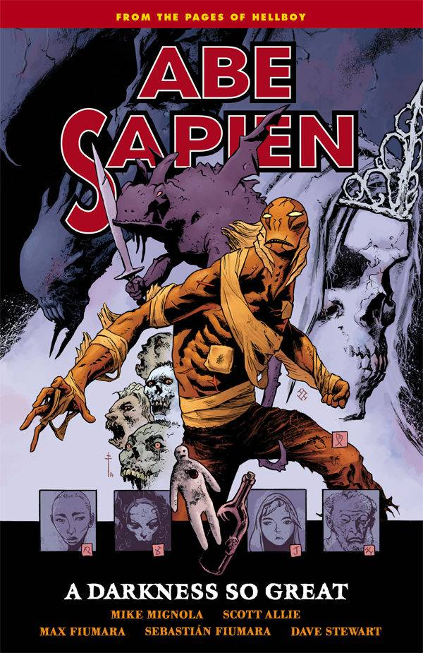 ABE SAPIEN TP VOL 06 DARKNESS SO GREAT (C: 0-1-2) | Phoenix Comics and Games