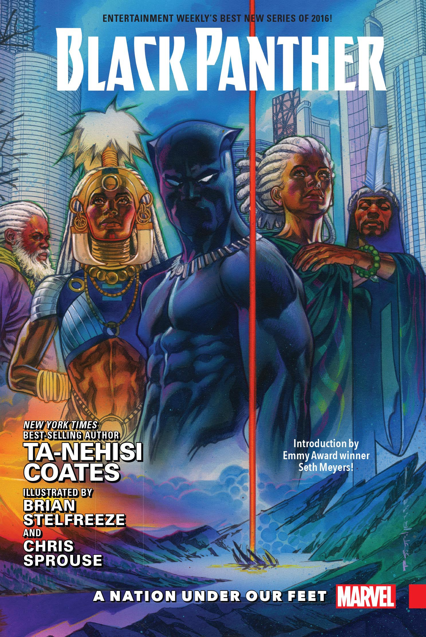 BLACK PANTHER HC VOL 01 A NATION UNDER OUR FEET | Phoenix Comics and Games