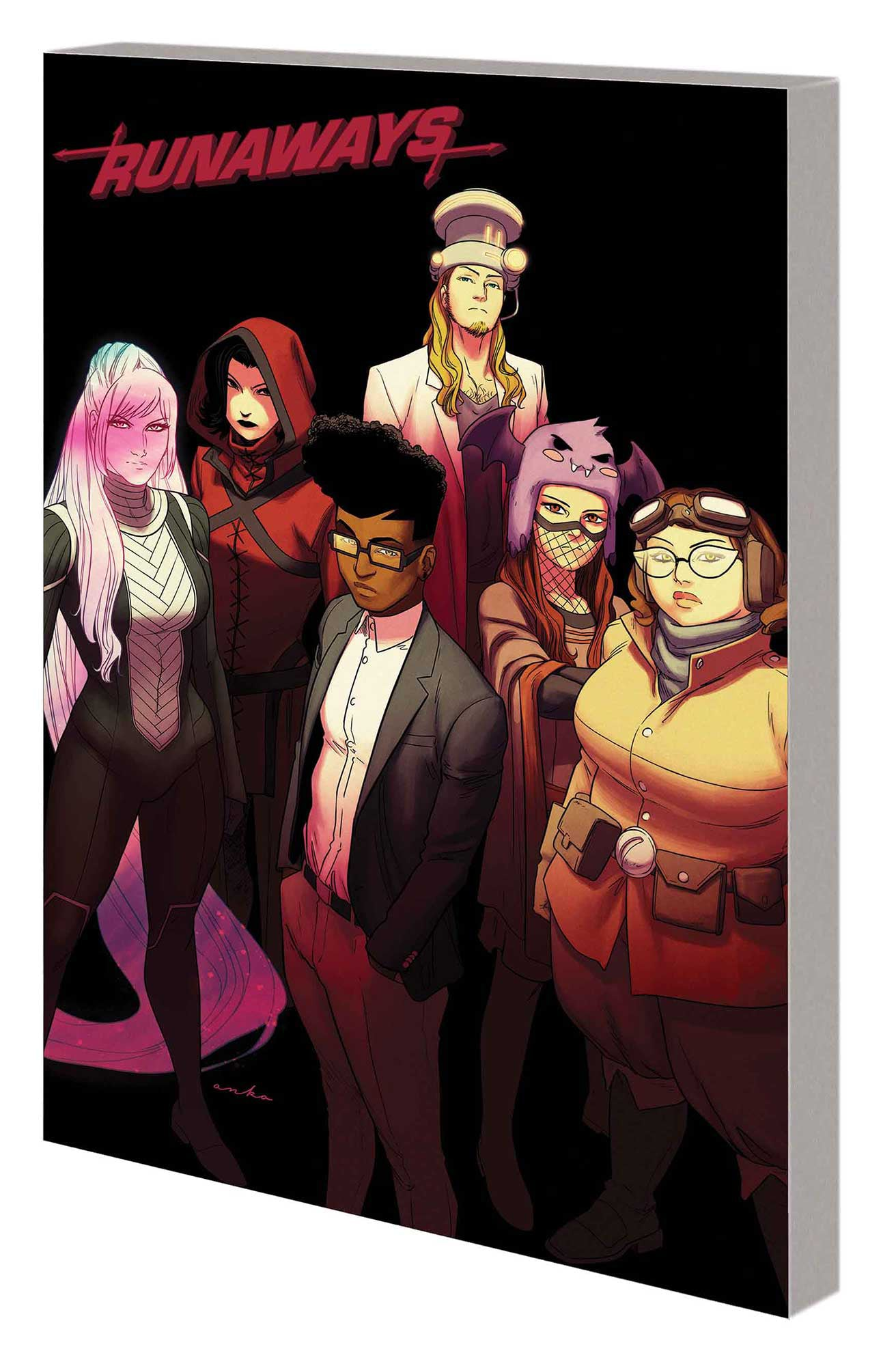 RUNAWAYS BY ROWELL AND ANKA TP VOL 03 THAT WAS YESTERDAY | Phoenix Comics and Games
