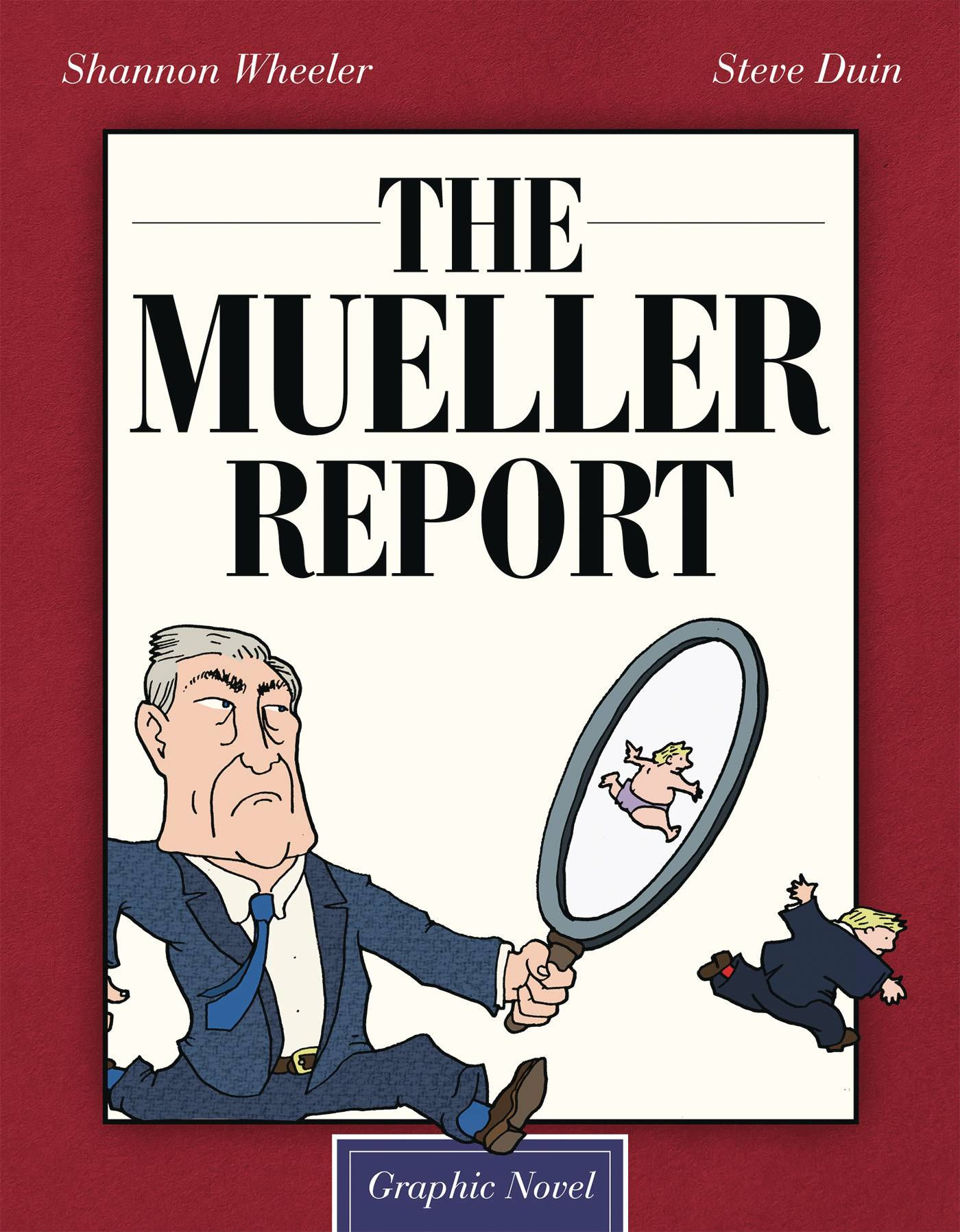 MUELLER REPORT HC GN (C: 0-1-2) | Phoenix Comics and Games