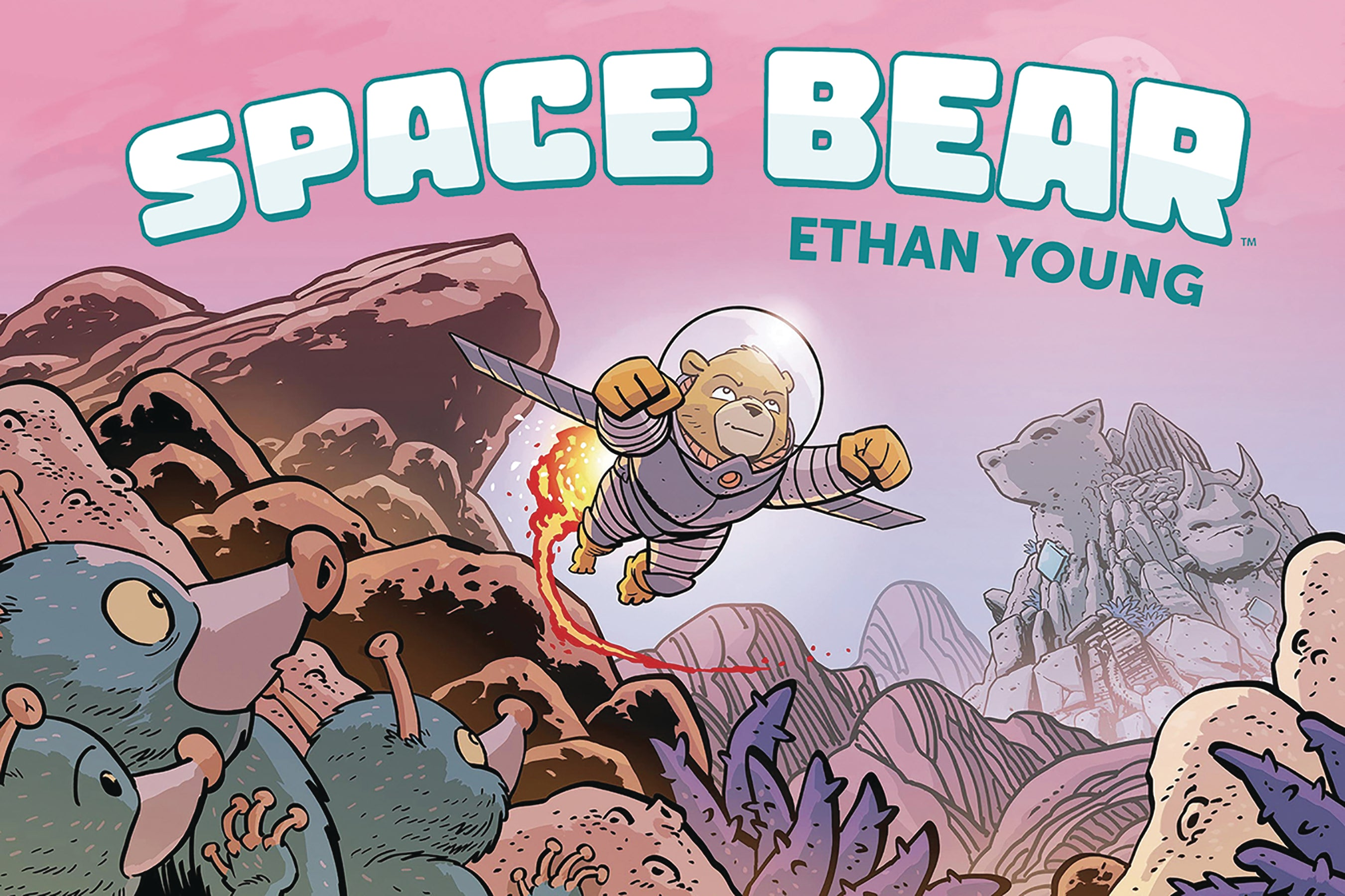 SPACE BEAR ORIGINAL GN HC | Phoenix Comics and Games