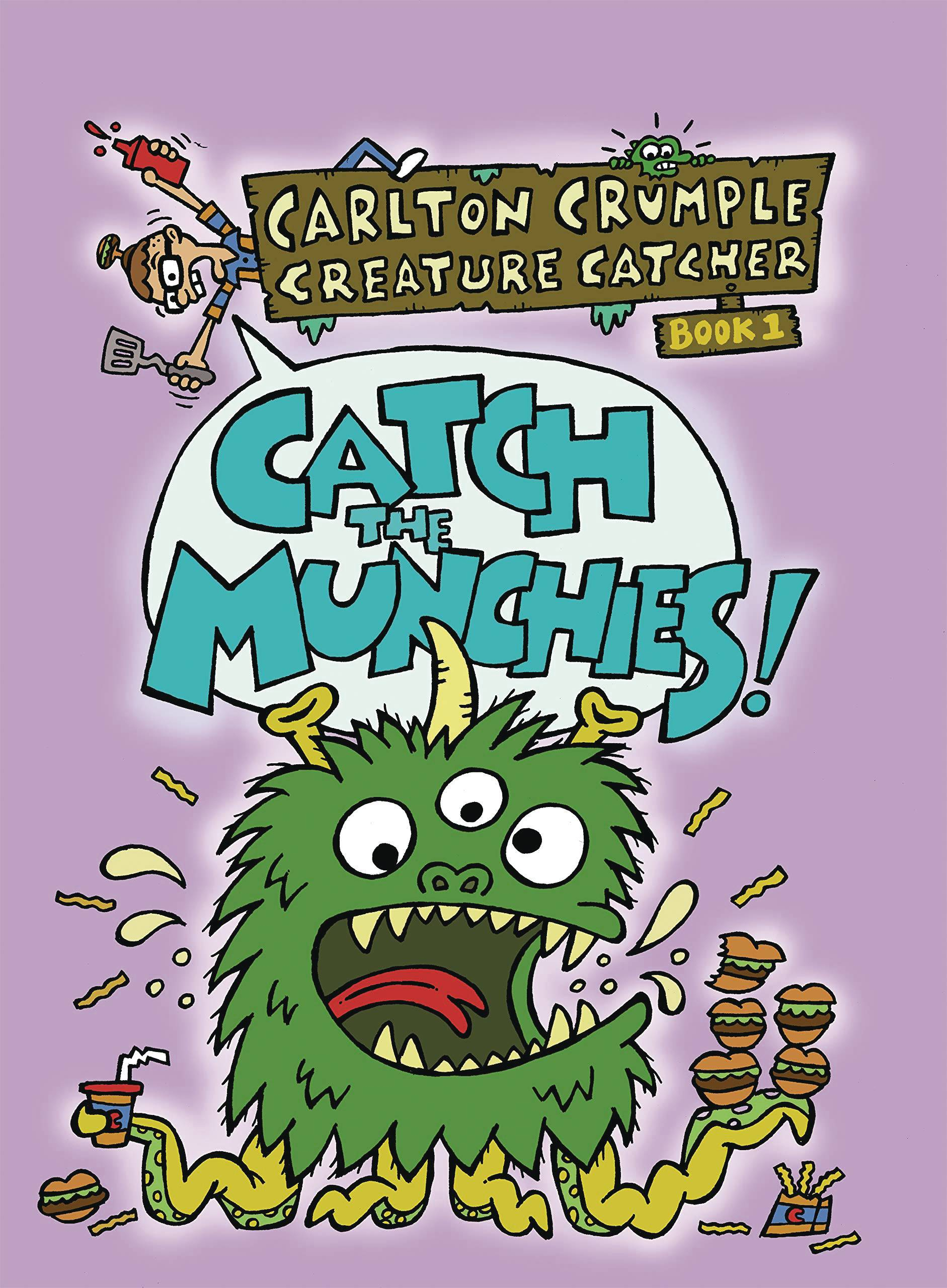 CARLTON CRUMPLE CREATURE CATCHER YA GN BOOK 01 CATCH MUCHCHI | Phoenix Comics and Games