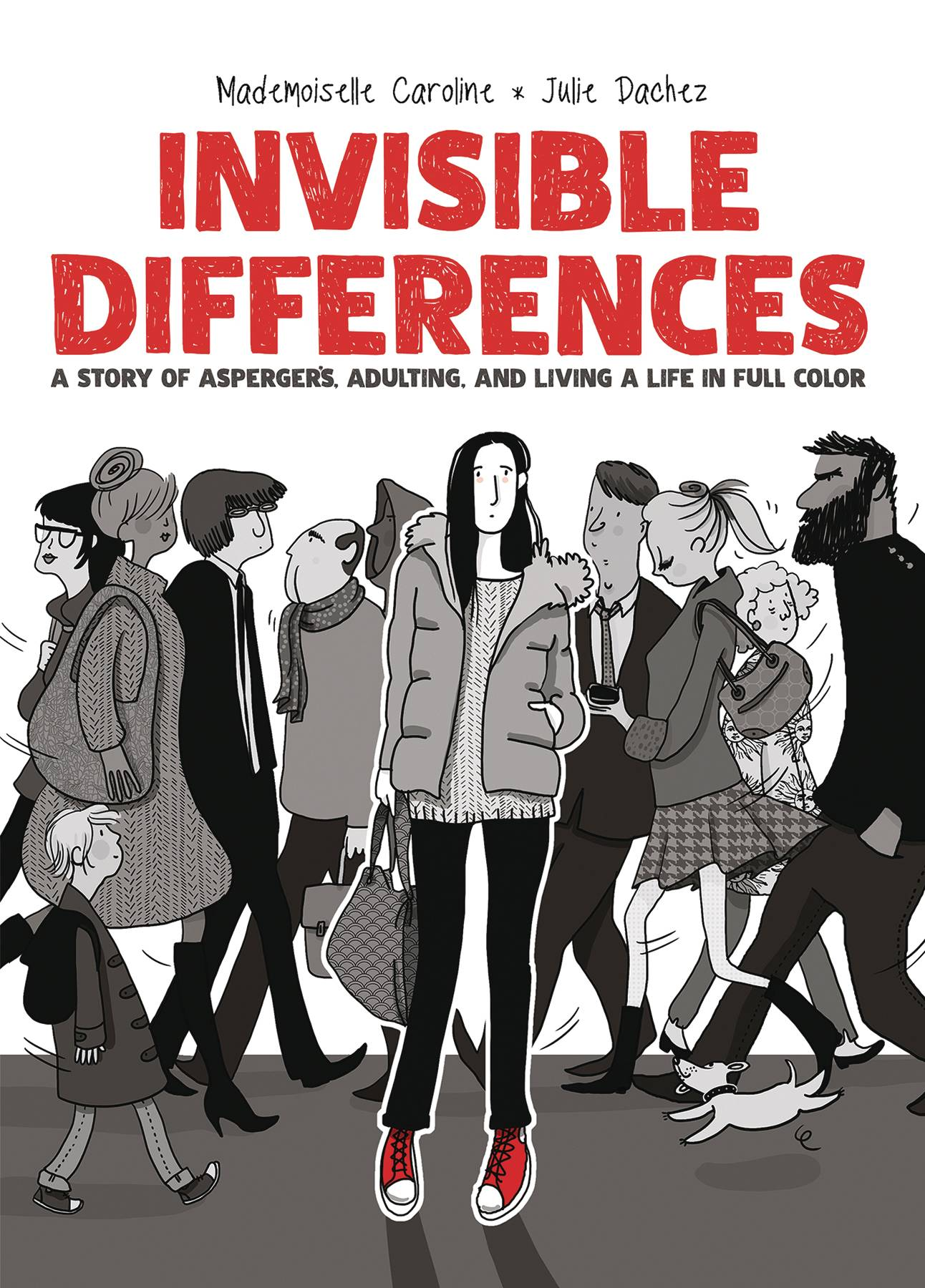 INVISIBLE DIFFERENCES ASPERGERS LIVING LIFE FULL COLOR HC | Phoenix Comics and Games