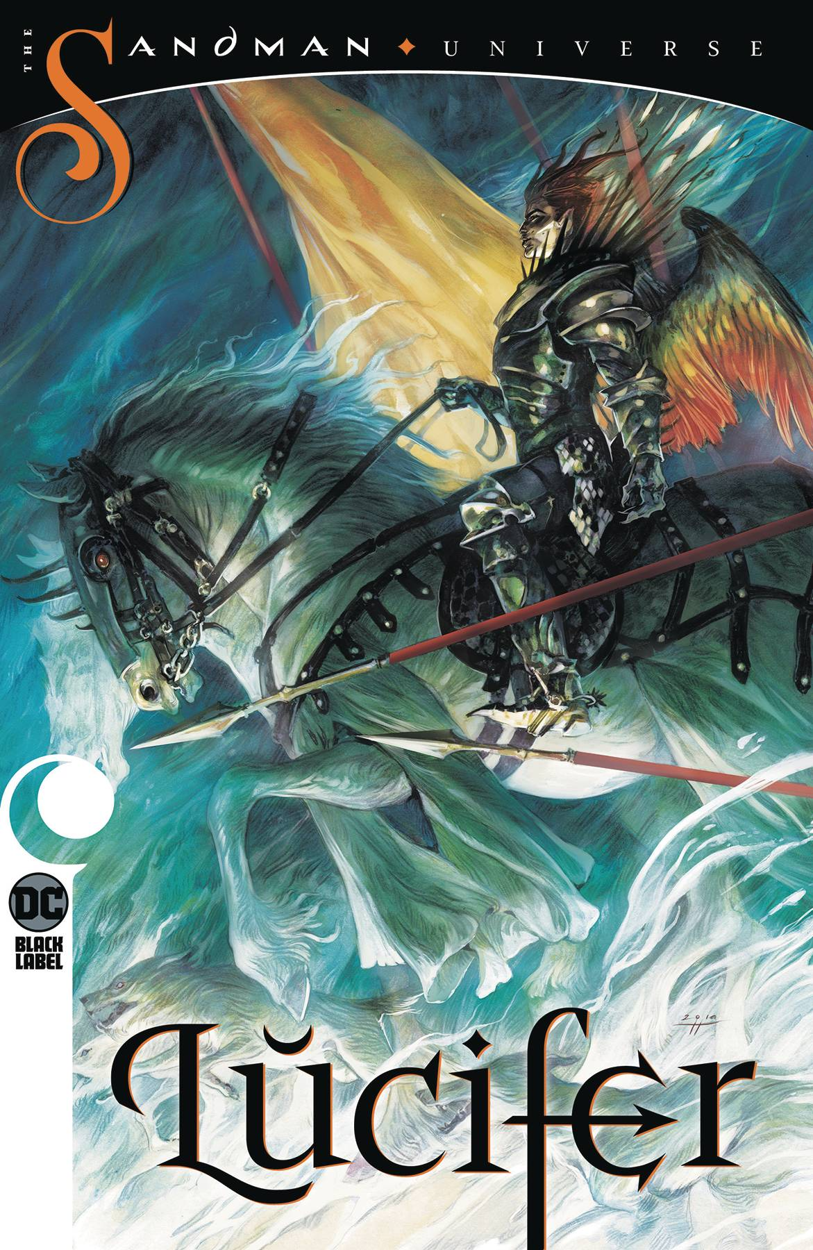 LUCIFER TP VOL 03 THE WILD HUNT (MR) | Phoenix Comics and Games