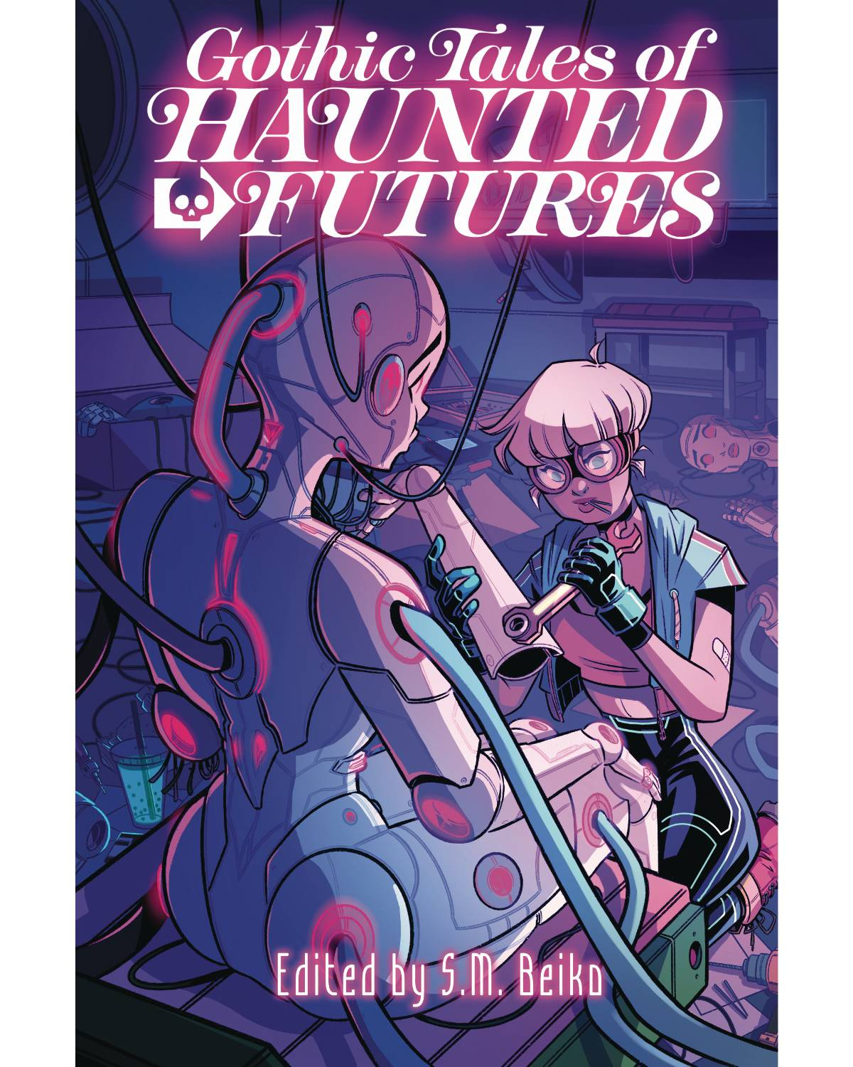 GOTHIC TALES OF HAUNTED FUTURES GN (MR) | Phoenix Comics and Games