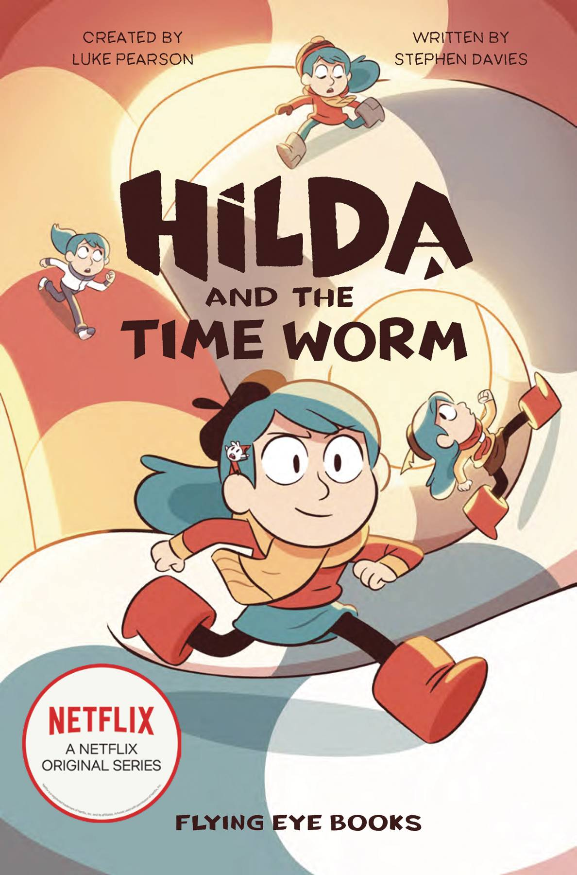 HILDA & TIME WORM NETFLIX TIE IN SC NOVEL (C: 1-1-0) | Phoenix Comics and Games