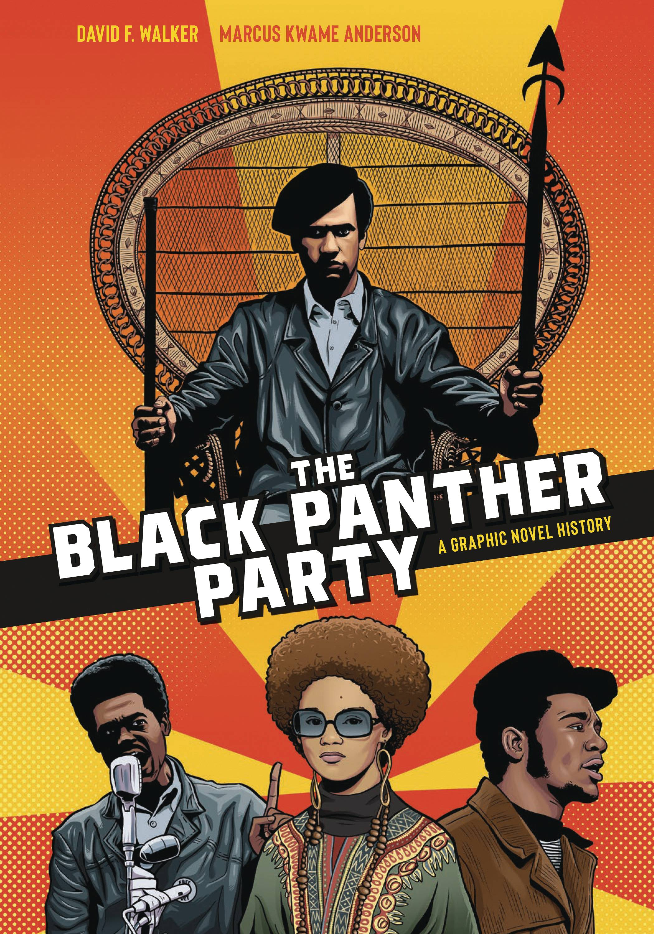BLACK PANTHER PARTY GRAPHIC HISTORY SC (C: 0-1-1) | Phoenix Comics and Games
