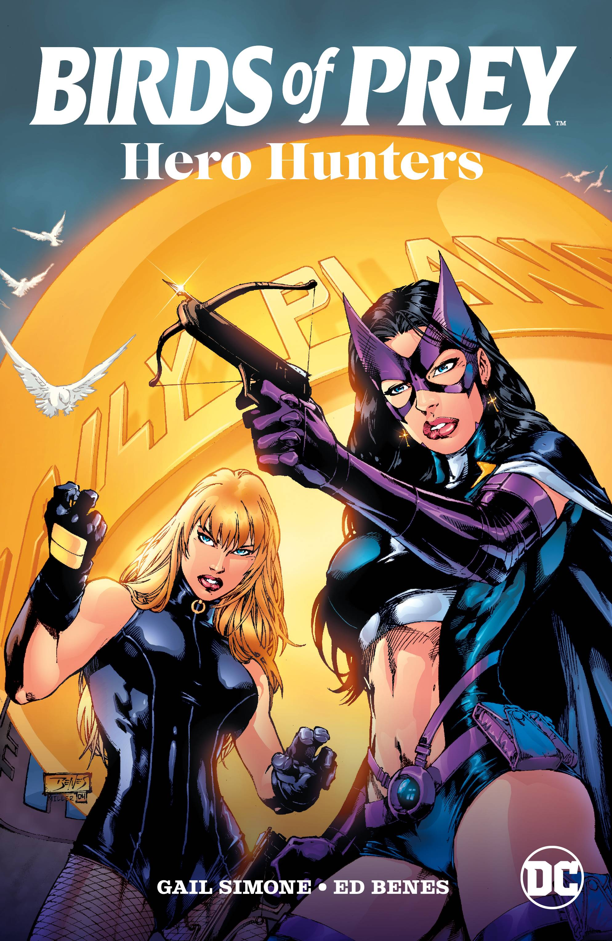 BIRDS OF PREY HEROES HUNTERS TP | Phoenix Comics and Games