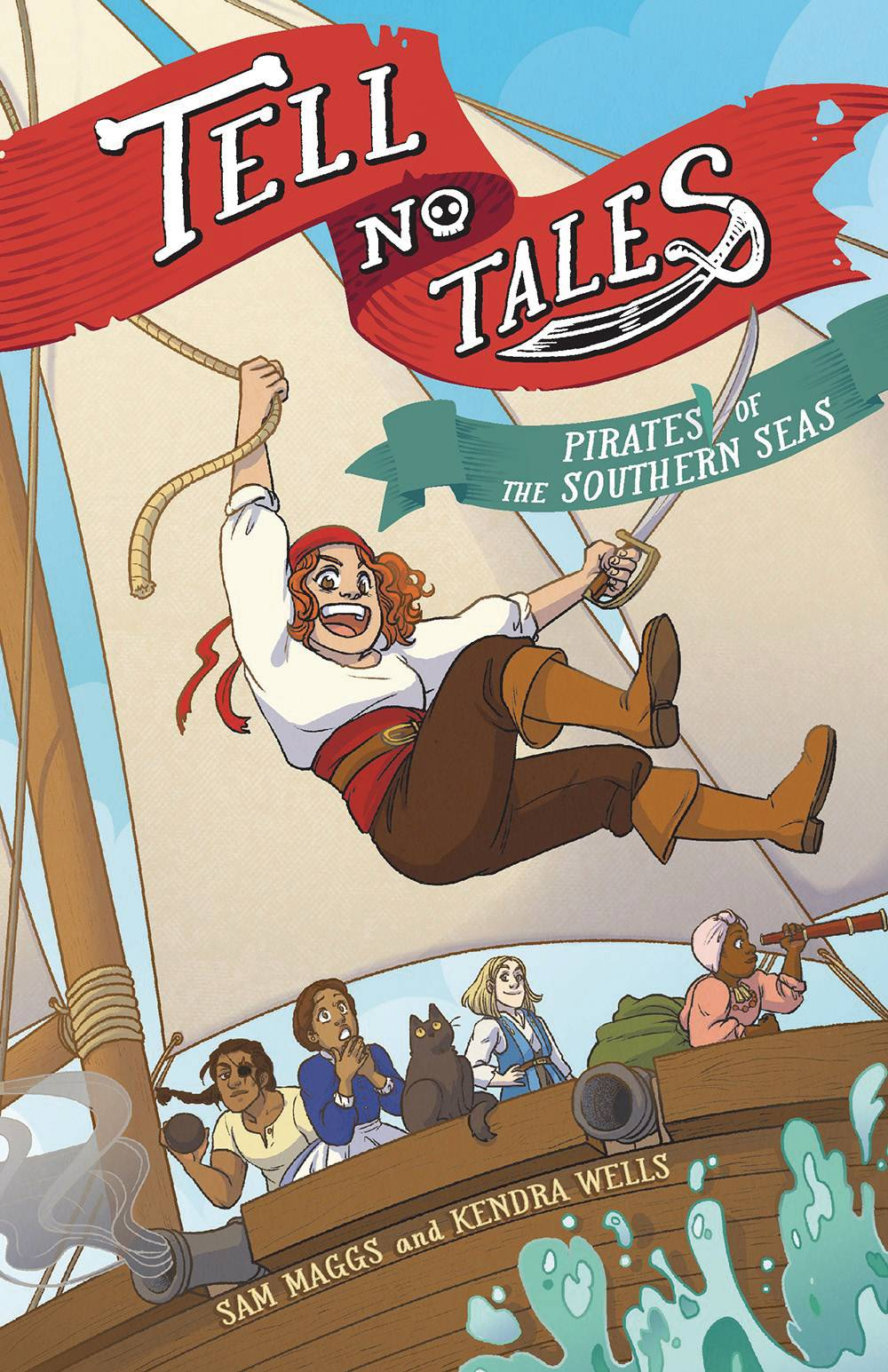 TELL NO TALES PIRATES OF SOUTHERN SEA GN (C: 0-1-0) | Phoenix Comics and Games