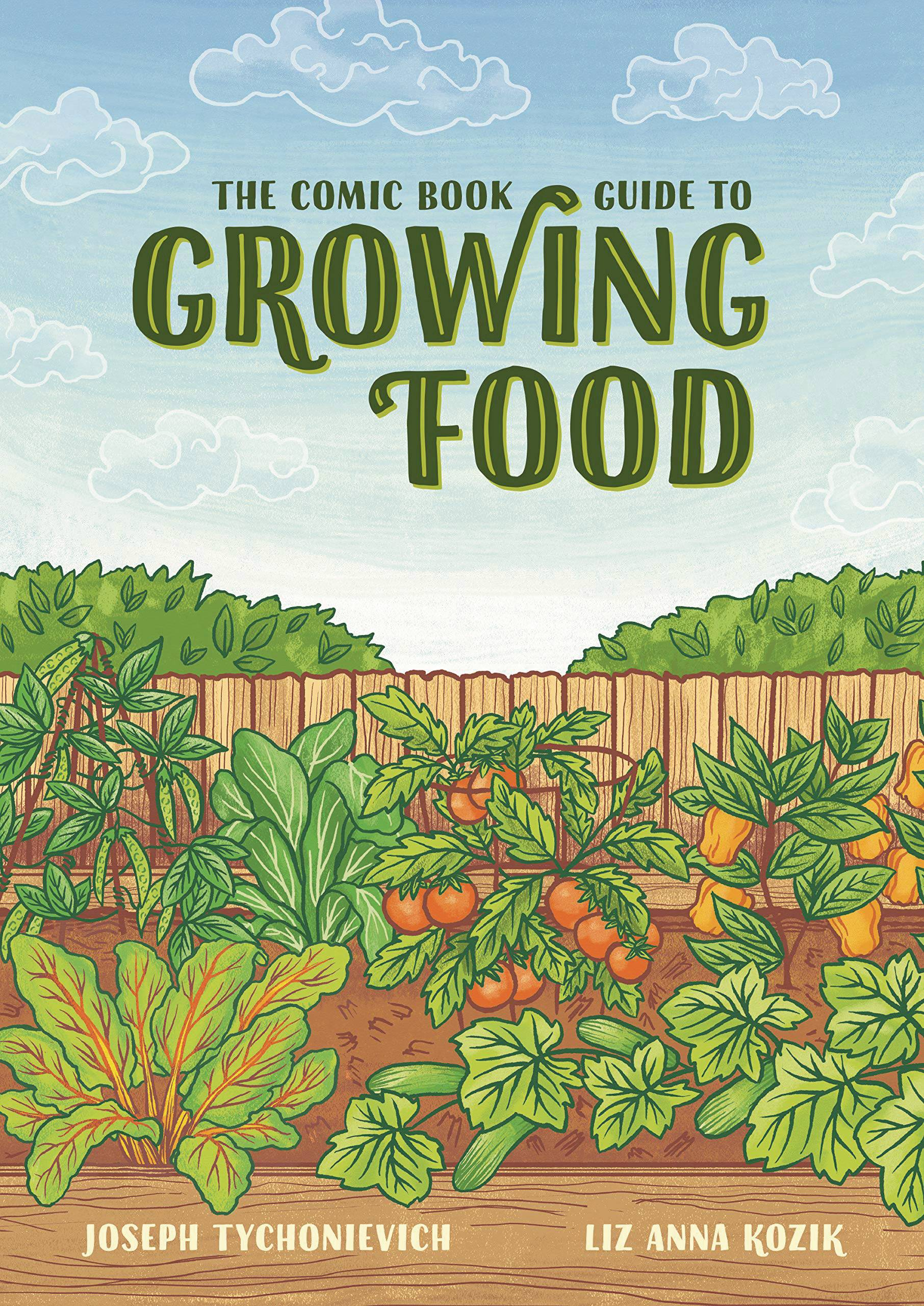 COMIC BOOK GUIDE TO GROWING FOOD | Phoenix Comics and Games