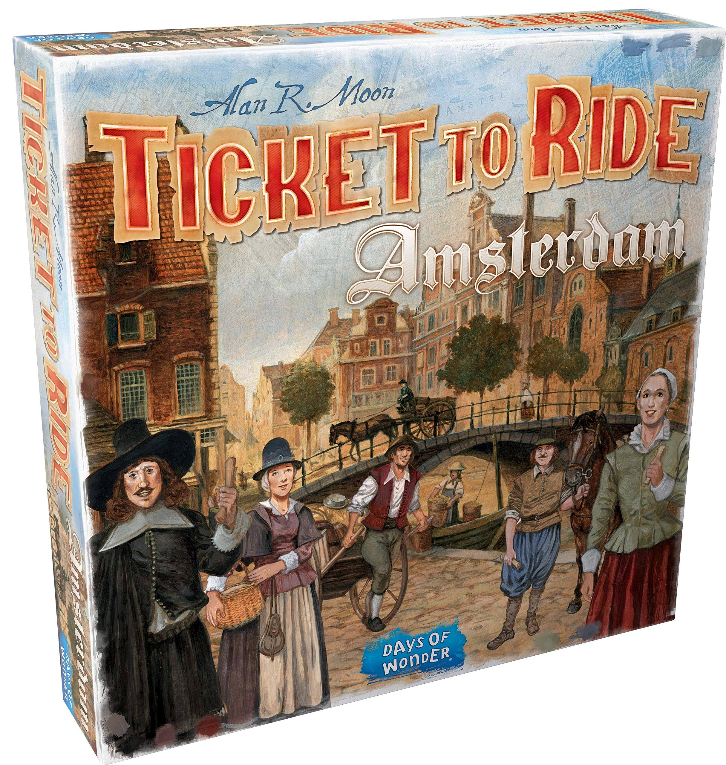 Ticket To Ride Amsterdam | Phoenix Comics and Games