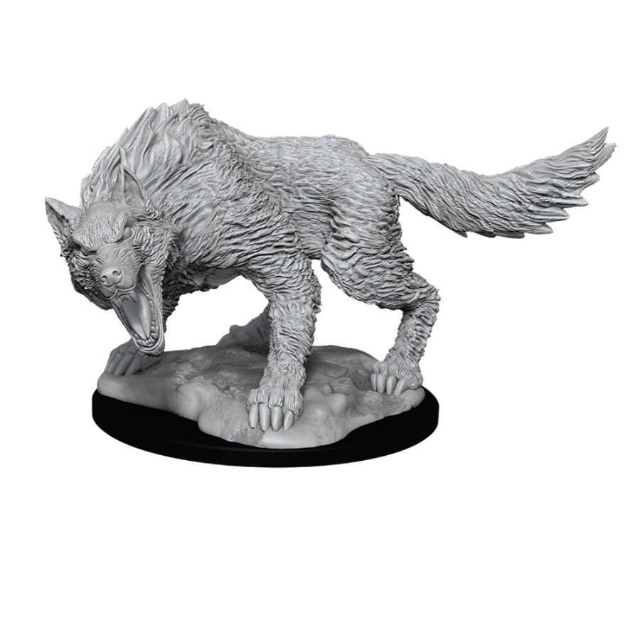DUNGEONS AND DRAGONS: NOLZUR'S MARVELOUS UNPAINTED MINIATURES -W11-WINTER WOLF | Phoenix Comics and Games