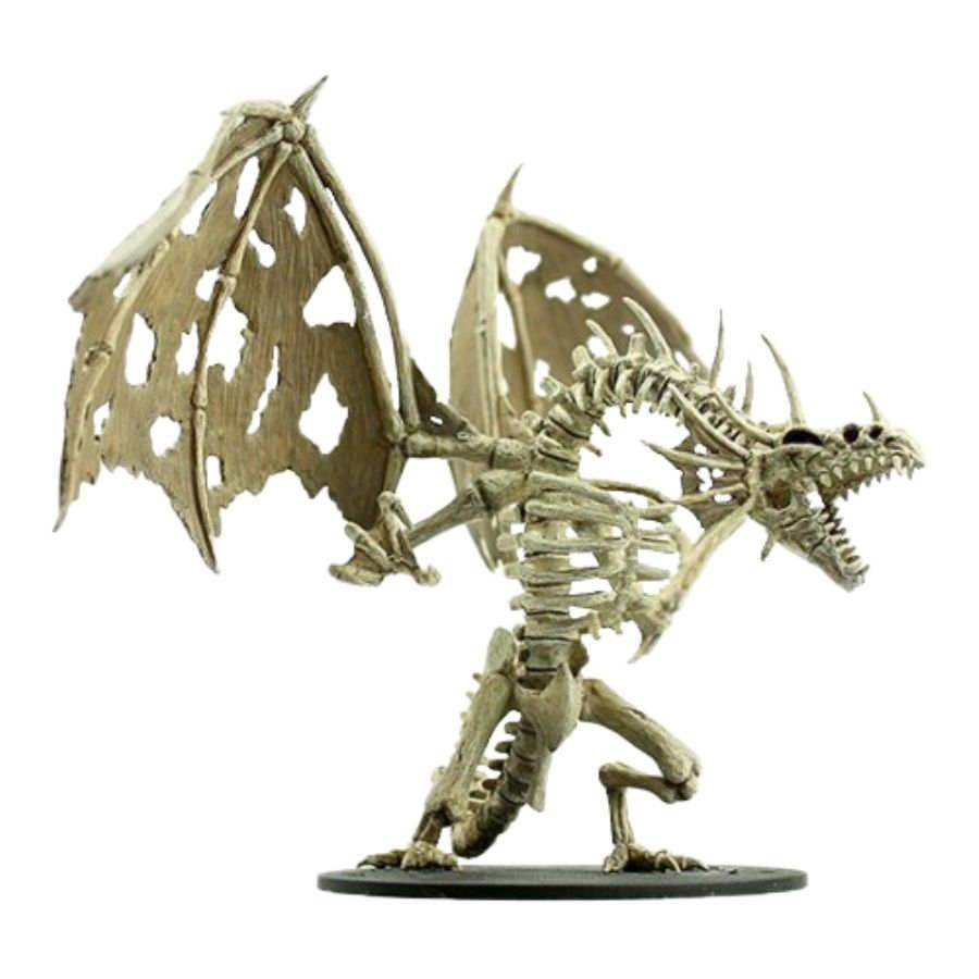 PATHFINDER: DEEP CUTS UNPAINTED MINIATURES -W11-SKELETAL DRAGON | Phoenix Comics and Games