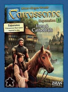 Carcassonne Expansion 1 Inns and Cathedrals | Phoenix Comics and Games
