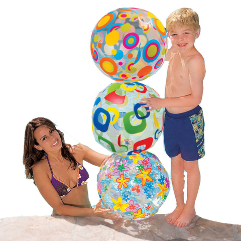 Bola inflable de playa