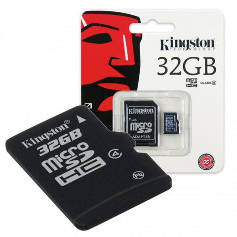 Memoria Kingston 32GB / Clase 10
