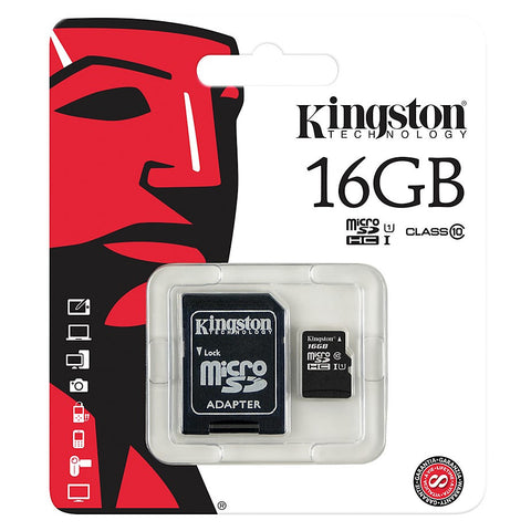 Memoria Kingston 16 GB / Clase 10