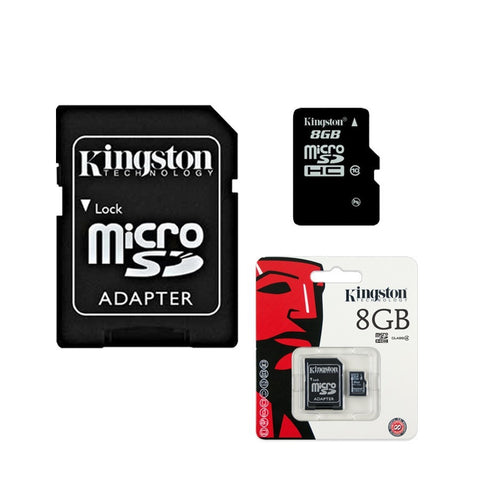 Memorias Kingston 8GB / Clase 4