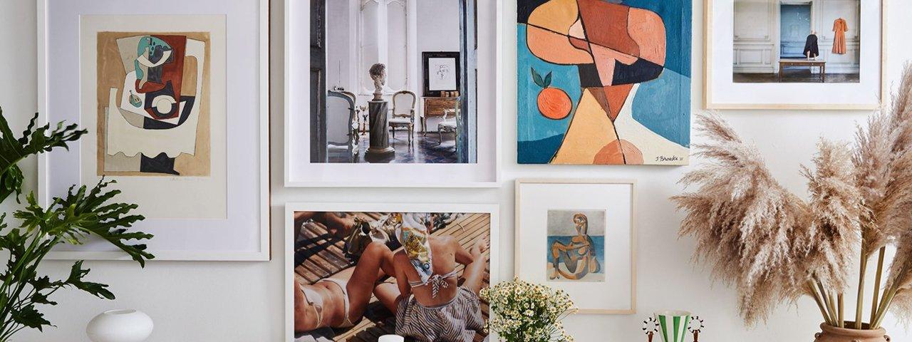 HOW TO | Create a gallery wall with Tali Roth