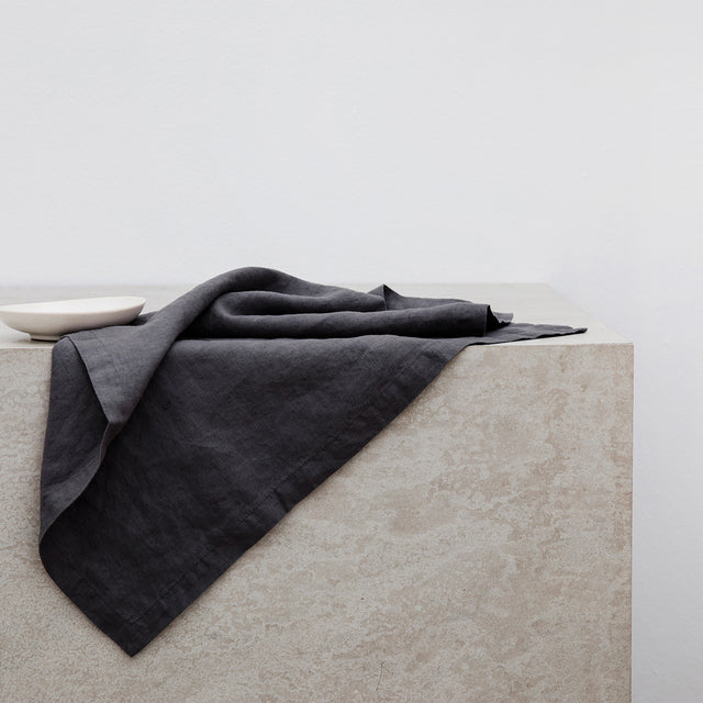 Linen Table Napkin in Slate