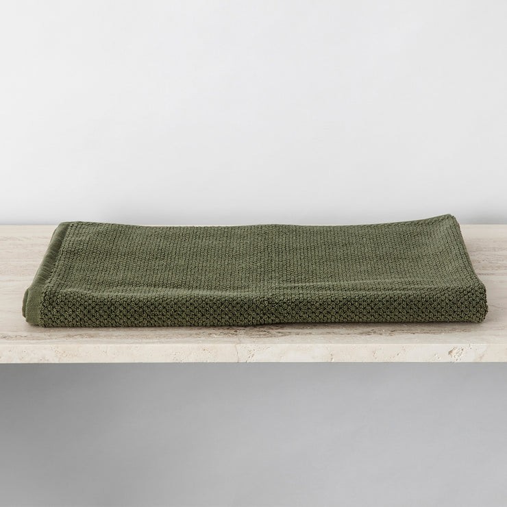 Forest Bath Mat folded neatly