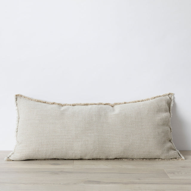Mira Lumbar Cushion Cover - Manu Sand