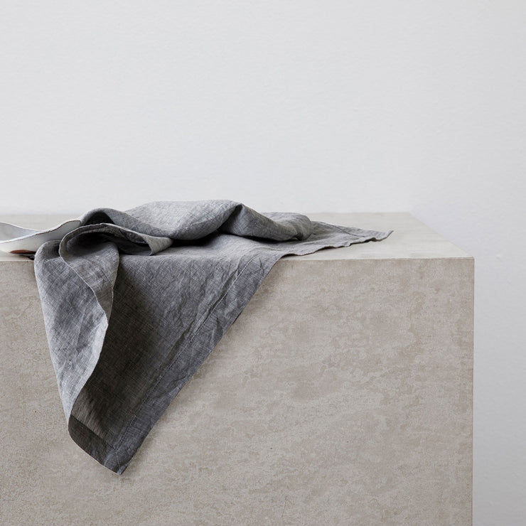 Linen Table Napkin in Ash.