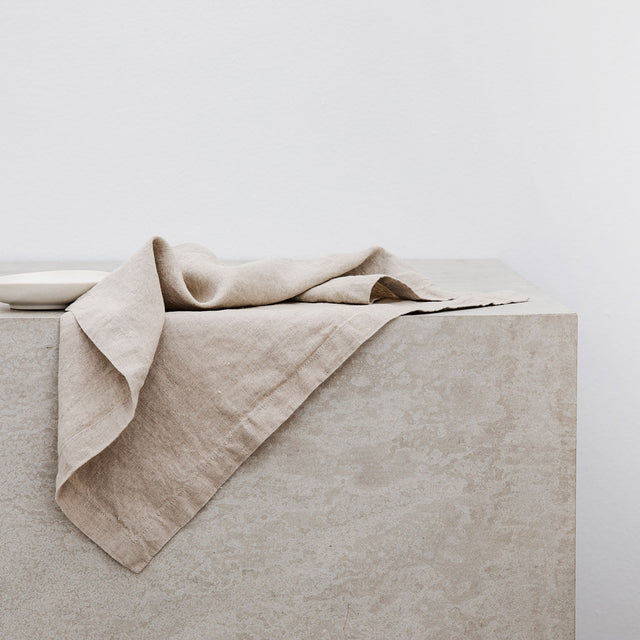 Linen Table Napkins - Natural
