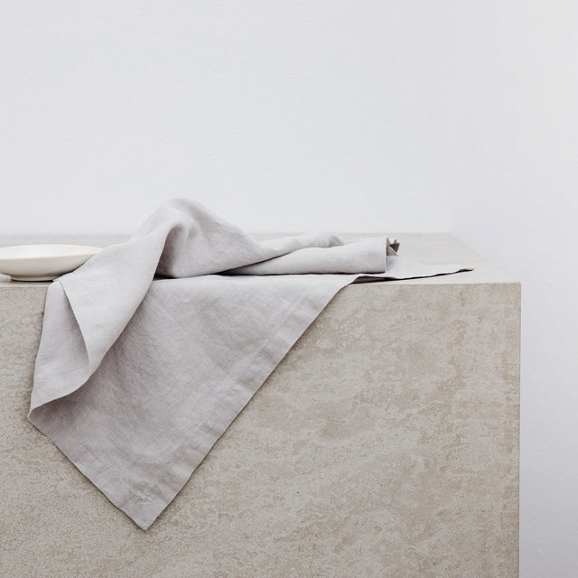 Linen Table Napkins - Smoke Gray