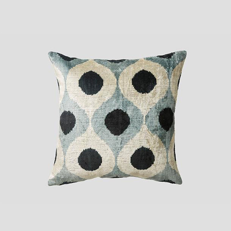 Silk Velvet Cushion - Bakir