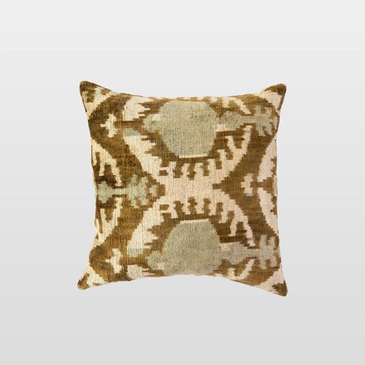 Silk Velvet Cushion - Plava