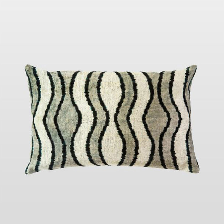 Silk Velvet Cushion - Renkli