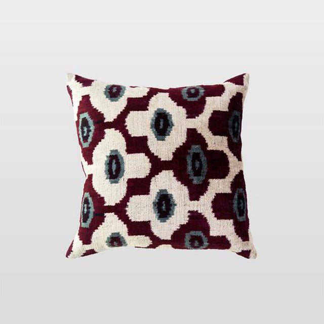 Silk Velvet Cushion - Roza