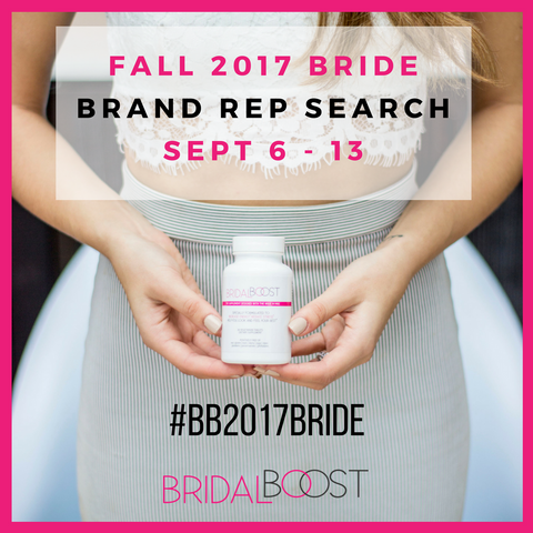 Bridal Boost wedding vitamin supplement