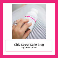 chic street style bridal boost vitamin supplements