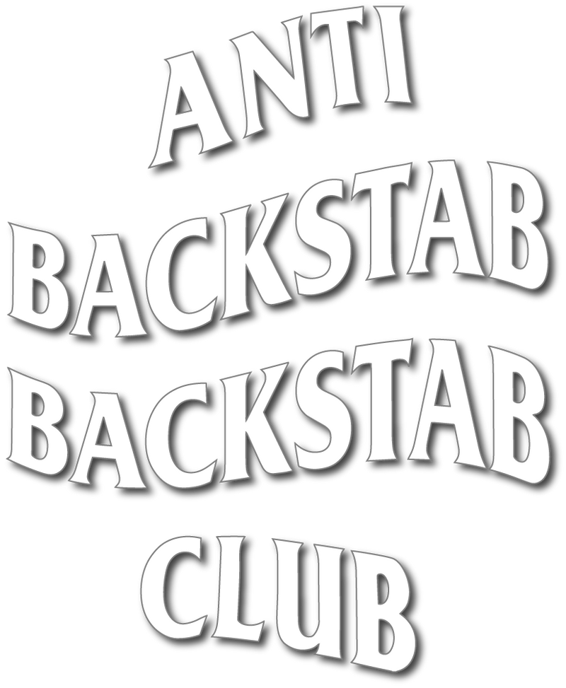 Anti Backstab Backstab Decal