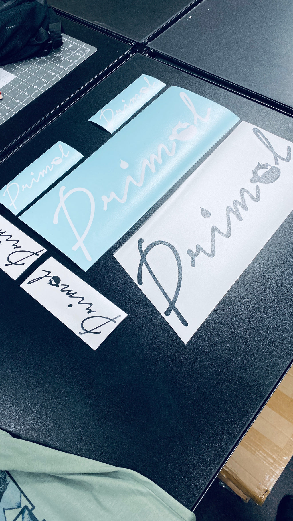 Primal Signature Edition Decal