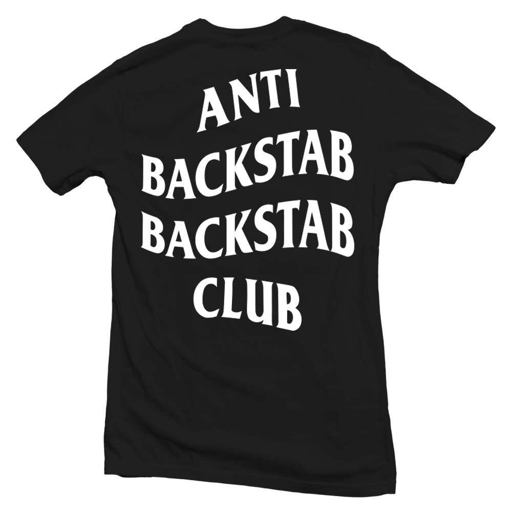 Anti Backstab Backstab Club / Black