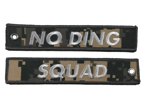 No Ding Squad Jet Tag