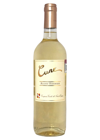Cune Blanco Semidulce 375 ml