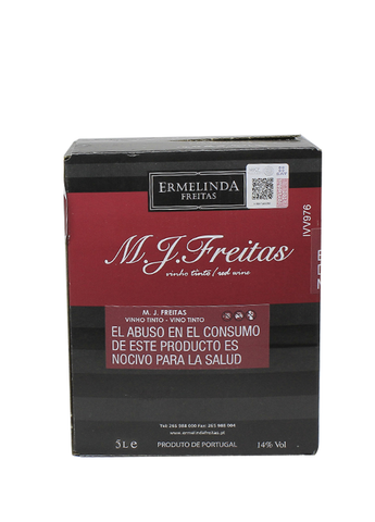 Bag in Box M.J. Freitas Tinto 5L