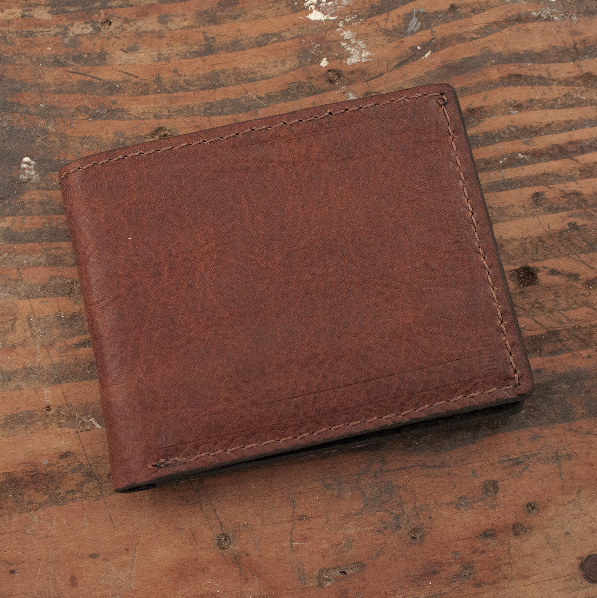 Brown Leather Wallet Handmade